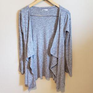 Epic Threads Knit Heather Grey Cardigan